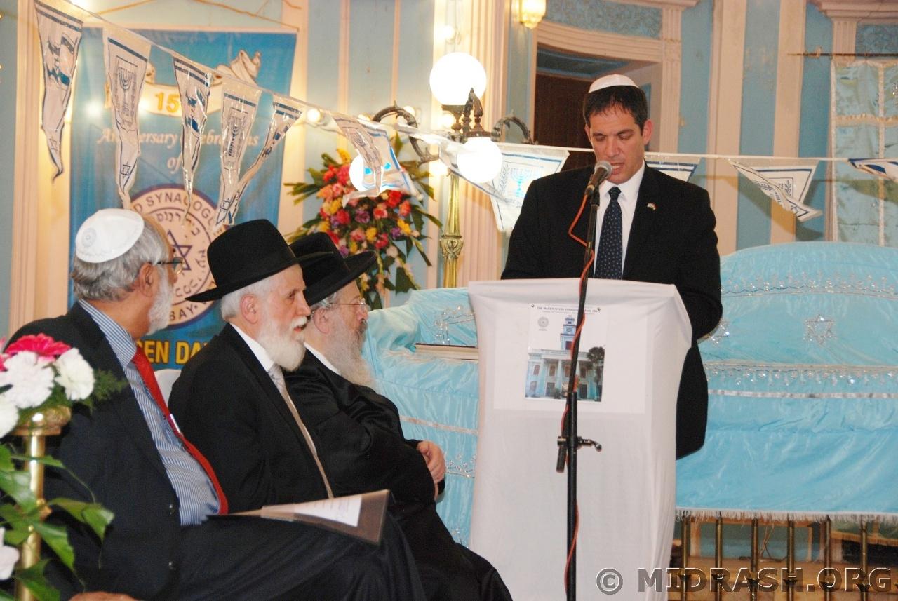Deputy Amabassador of Israel to India