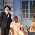 24 hr. police presence at all the Sassoon Synagogues.