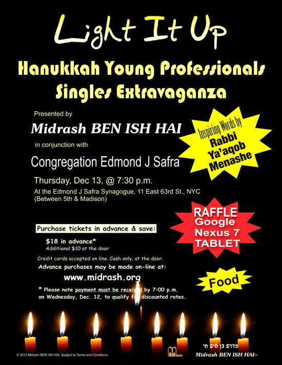 Midrash Ben Ish Hai and Congregation Edmond j Safra