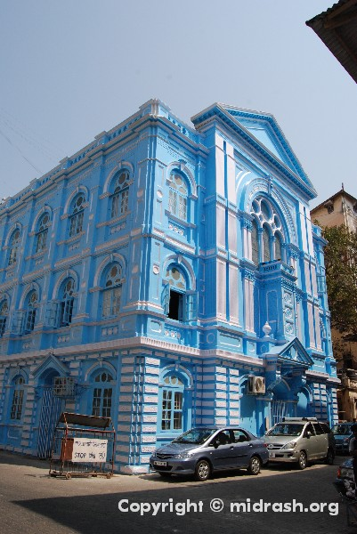 The Keneseth Eliyahoo Synagogue, Mumbai India